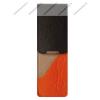 John Gabriel John Gabriel bőr patentos tolltok 5 cm széles, Szivárvány kollekció, MANDARINO