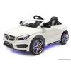 Joko Elektromos Kisautó Mercedes CLA-Világító Alváz, Kerék-Állítható Szervókormány-Fehér