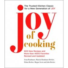 Joy of Cooking – Irma S. Rombauer,Marion Rombauer Becker,Ethan Becker idegen nyelvű könyv