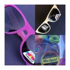 Junior Banz Chameleon színváltós gyermek napszemüveg sárga/pink 1 db