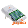 Jupio Compact Charger incl. 4x AA Direct Power
