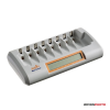 Jupio Octo Charger (charges 8 AA/AAA batteries)