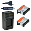 Jupio utángyártott akkumulátor (GoPro AHDBT-401 HERO4 1160mAh) és USB Dual Charger Kit