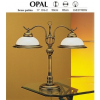 JUPITER OPÁL OG-2 asztali lámpa 2xE27/60W