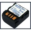 JVC GR-D650AC 7.4V 1200mAh utángyártott Lithium-Ion kamera/fényképezőgép akku/akkumulátor