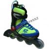 K2 Cadence Boy green/blue gyerek állítható görkorcsolya
