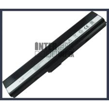 K52D 4400 mAh 6 cella fekete notebook/laptop akku/akkumulátor utángyártott asus notebook akkumulátor
