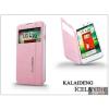 Kalaideng LG L70 D320N flipes tok - Kalaideng Iceland 2 Series View Cover - pink