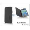 Kalaideng Samsung i8260 Galaxy Core flipes tok - Kalaideng Iceland Series - black