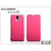 Kalaideng Samsung SM-G900 Galaxy S5 flipes tok - Kalaideng Enland Series - dark pink