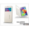 Kalaideng Samsung SM-G900 Galaxy S5 flipes tok - Kalaideng Iceland 2 Series View Cover - white