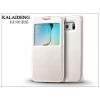 Kalaideng Samsung SM-G928 Galaxy S6 Edge+ flipes tok - Kalaideng Sun Series View Cover - white