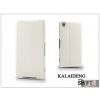 Kalaideng Sony Xperia Z2 (D6503) flipes tok - Kalaideng Swift Series - white