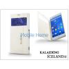 Kalaideng Sony Xperia Z3 (D6603) flipes tok - Kalaideng Iceland 2 Series View Cover - white