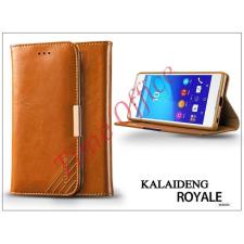 Kalaideng Sony Xperia Z3+/Z4 (E6553) flipes tok kártyatartóval - Kalaideng Royale II Series - brown tablet tok
