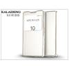 Kalaideng Sony Xperia Z5 (E6653) flipes tok - Kalaideng Sun Series View Cover - white