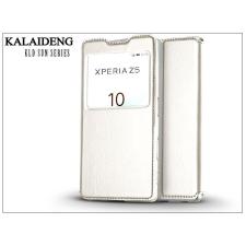 Kalaideng Sony Xperia Z5 (E6653) flipes tok - Kalaideng Sun Series View Cover - white tok és táska