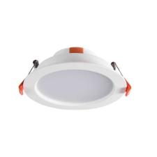 KANLUX LED panel , LITEN , 8W , süllyesztett , kerek , természetes fehér , vízvédett , IP40/IP20 világítási kellék