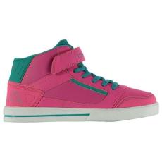 Kappa gyerek cipő - Kappa Alphor Mid Child Trainers Pink Blue