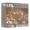 Karácsonyi fénykoszorú (elemes) 30cm