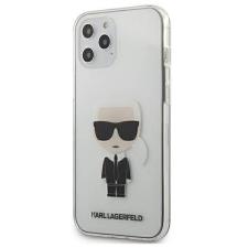 """Karl Lagerfeld KLHCP12LTRIK iPhone 12 6,7"""" Pro Max tok Átlátszó Ikonik telefontok tok és táska"""