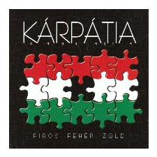 Kárpátia Piros, fehér, zöld (CD) rock / pop
