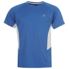 Karrimor férfi futópóló - Karrimor Short Sleeve Run T Shirt Mens Classic Blue férfi póló