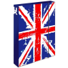 Karton PP Nagy-Britannia füzetbox - A4