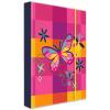 Karton PP Pillangós füzetbox A5