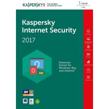 Kaspersky Internet Security 2017 1PC Multidevice (1 Device, 1 Year) KL1091XCAFS karbantartó program