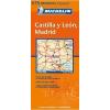 Kasztilia és León, Madrid térkép - Michelin 575
