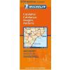 Katalónia, Aragónia, Andorra térkép - Michelin 574