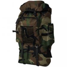 Katona stílusú hátizsák 100 XXL kamuflázs mintás hátizsák