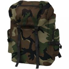 Katona stílusú hátizsák 65 L kamuflázs mintás hátizsák