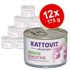 Kattovit Sensitive 12 x 175 g - csirke