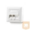 KELine 601143-AP Moduló 50 falon kívüli aljzat, 3 portos, üres