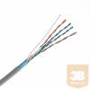 KELine KE300S26-RLX FTP (F/UTP) patch kábel, Kategória 5E, 125 MHz, LSOH, 305 m-es dobozban