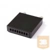 KELine RA-FO-08SC Elosztódoboz 8 x SC-SC, LC-LC Duplex vagy E2000-E2000 toldóhoz, üres