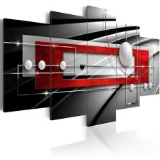 Kép - Modern Symmetry 200x100 grafika, keretezett kép