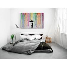 KÉPafalra webáruház Szerelem az esőben vászonkép grafika, keretezett kép