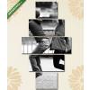 Képáruház.hu Bolondozó szerelmespár(135x70 cm, S01 Többrészes Vászonkép)