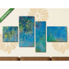 Képáruház.hu Claude Monet: Wisteria (1925)(125x70 cm, S02 Többrészes Vászonkép)