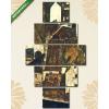 Képáruház.hu Egon Schiele: Város a Kék folyónál III.(135x70 cm, S01 Többrészes Vászonkép)