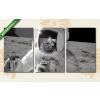 Képáruház.hu Ember a Holdon(125x60 cm, L02 Többrészes Vászonkép)