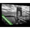 Képáruház.hu George Washington híd, New York(35x20 cm, vászonkép)