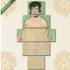 Képáruház.hu Gustav Klimt: Amalie Zuckerkandl portréja(135x70 cm, S01 Többrészes Vászonkép)