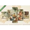 Képáruház.hu Joaquin Sorolla: Dinnyeárus (1890)(135x70 cm, S01 Többrészes Vászonkép)
