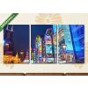 Képáruház.hu Kínai utcakép(125x60 cm, L02 Többrészes Vászonkép)