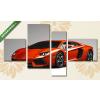 Képáruház.hu Lamborghini Aventador(125x70 cm, S02 Többrészes Vászonkép)