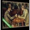 Képáruház.hu Paul Cézanne: Kártyázók (2 férfi)(25x20 cm, vászonkép)